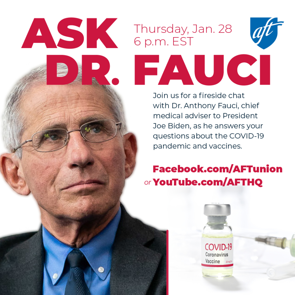 Ask Dr Fauci